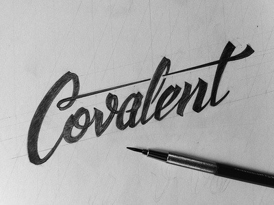 type-lover:  Covalent sketch by Sean Dockery