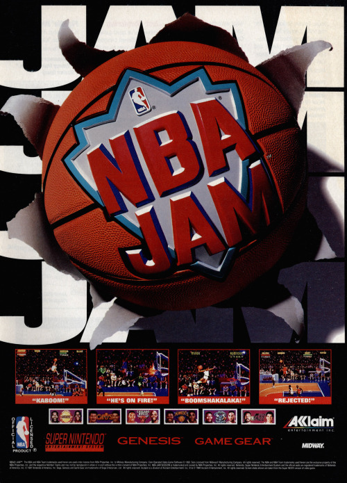 NBA Jam advert.