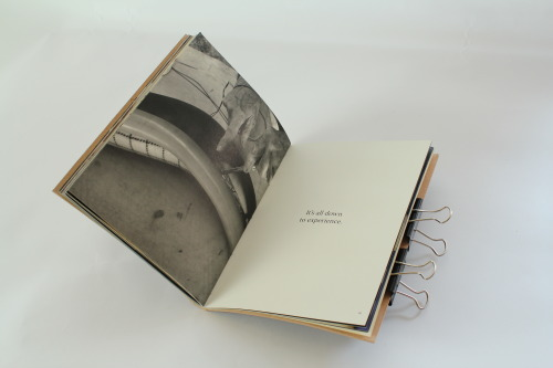 EMP. A photography book documenting my Granddad's work as a harness & collar maker for horses. The book celebrates the trade, skill & the craftsman behind a nearly forgotten livelihood. Hand stitched with a real leather cover (embossed with metal type) and printed on Mohawk Superfine stock.