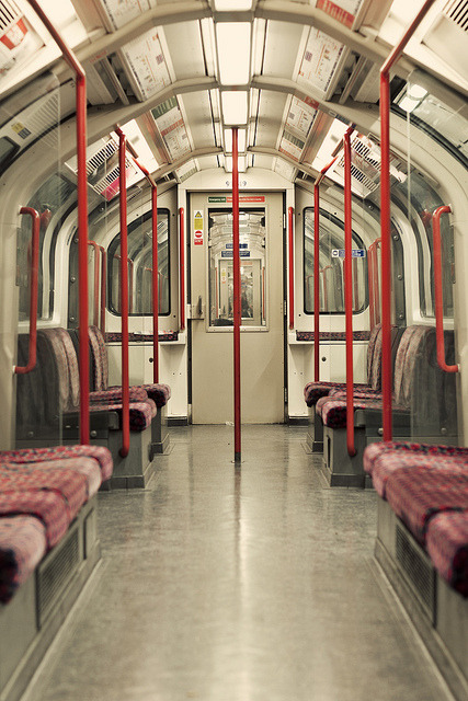 Central Line by Elahe Kianpoor on Flickr.