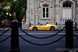 Ferrari 458 Italia Spider / The Official Ferrari Magazine / Downtown Chicago (by jeremycliff)