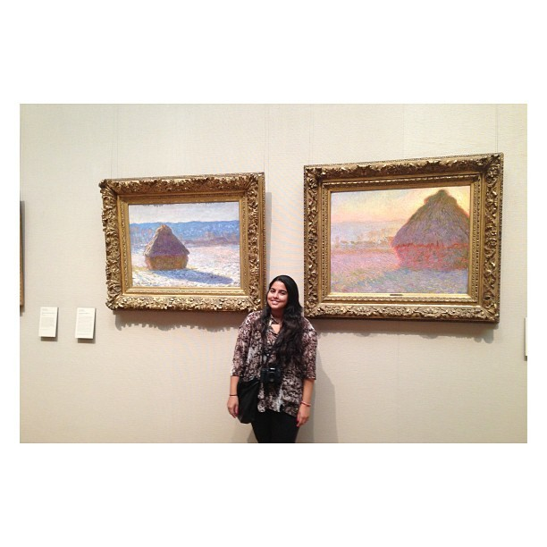 Monet.  (at Museum of Fine Arts)