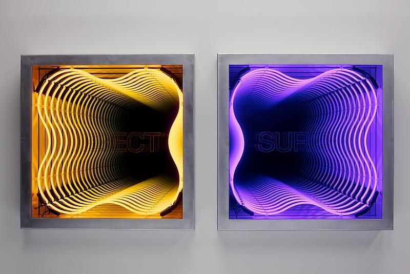 makzeknife:  Ivan Navarro - Defect & Surge - Frieze