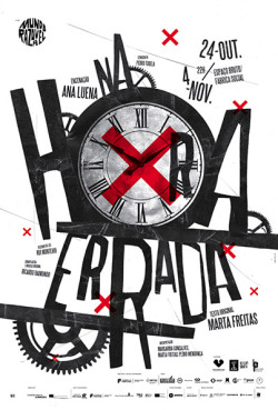 serialthrill:  Na Hora Errada (In the Wrong Time) poster.