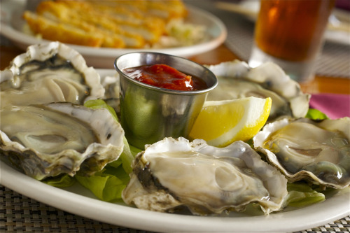 It's National Oyster Day! Really. We're not making this up. Fresh oysters at Uncle's. Open Sunday from 10AM - 9:00PM.