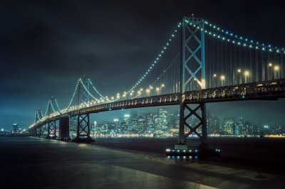 greekg0ds:  Bay Lights by Allard One