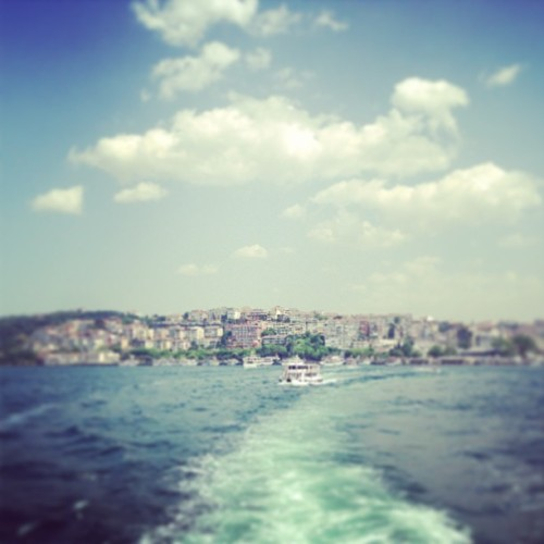 Just quickly going to Asia! #istanbul #ferry #sundayfunday / on Instagram http://bit.ly/18aa24T