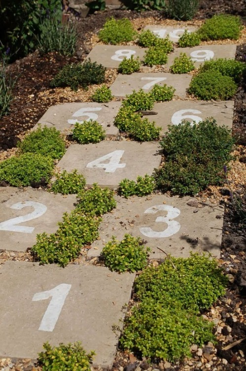 Hopscotch pavers in http://bit.ly/17tFVYi