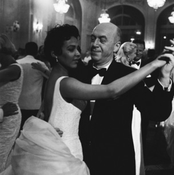 Dorothy Dandridge and Otto Preminger.