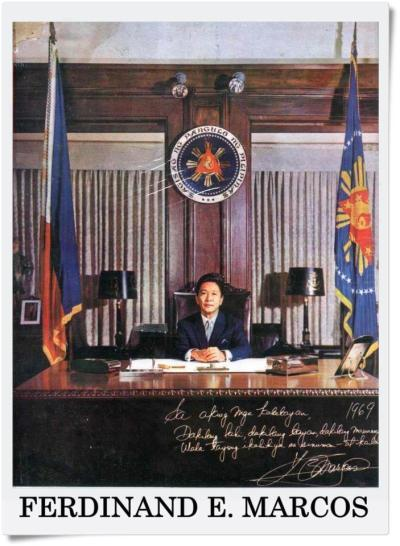 roseisbulaklak:  Ferdinand E. Marcos 10th President of the PhilippinesDuring His time as President, the Philippines is;-Richest country in Asia-First to have Airport in Asia-First to have Train in Asia-No.1 exporter of Rice and Sugar in the world-Drugs are not rampant and drinking alcohol on the side of the roads is prohibited-No Foreigners to Buy Real Estate in Philippines-The exchange of USD 1.00 = PHP 1.50-The only president that does not make use of a cheat sheet When giving a speech here and abroadProjects accomplished and not just promised of:-Manila International Airport-LRT-1 (1st in Southeast Asia)-Heart Center of the Philippines-Kidney Center-Nayong Filipino-Bataan Nuclear Power Plant-Coconut Palace-PICC-Philippines Lung Center-Film Center-Golden Mosque for Muslims-Folks Arts Teatre, SLEX and NLEX (1st in Southeast Asia)San Juanico Bridge(c) to the owner