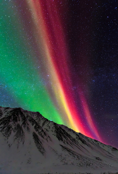 0mnis-e:  Aurora Rainbow, By Cj Kale.