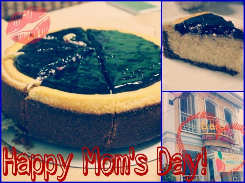 Blueberry Cheesecake :') Happy Mom's Day! ♥