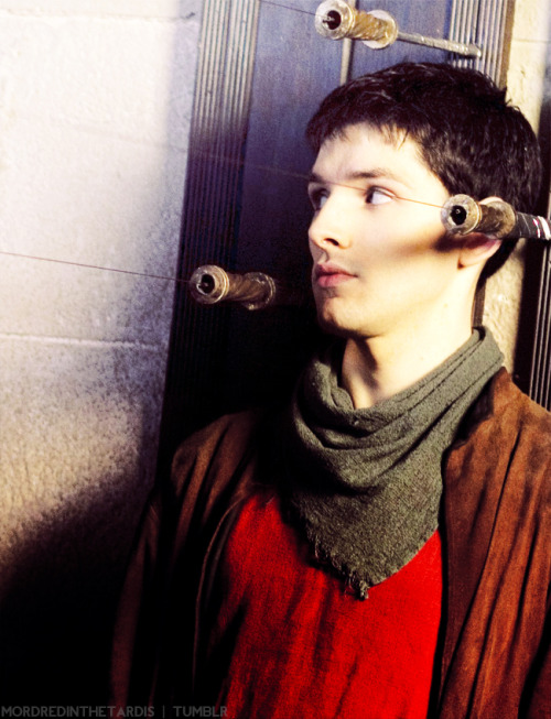 mordredinthetardis:  32/50 • Behind the Scenes of Merlin