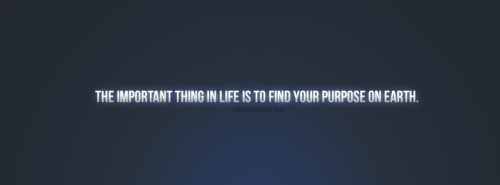 Find Your Purpose On Earth Quote Facebook Cover