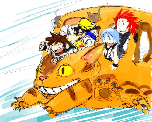 munspeak:  what? gummi ship broke? use the catbus instead!