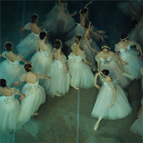 loverussianballet:  Corps in La Giselle by Mark Olich