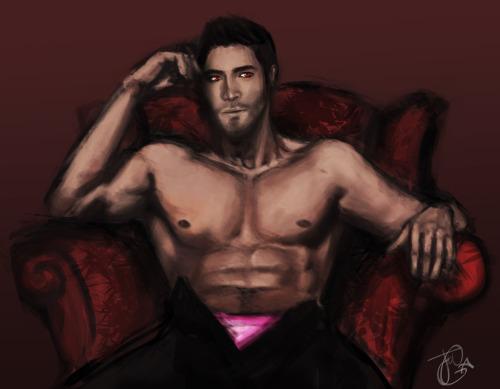 sterekism:  Happy Pink Undies Sunday!