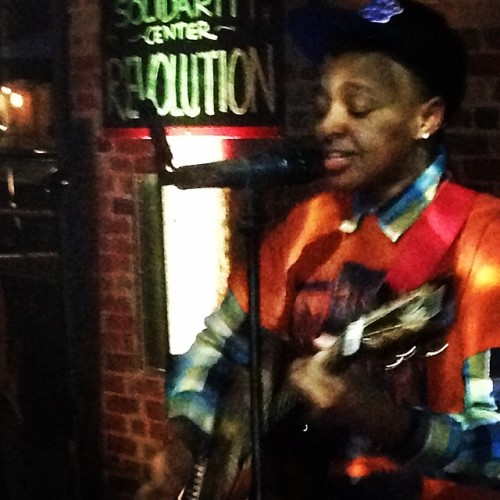 @lailanur_music  #awesome   (at Cuban Revolution Restaurant)