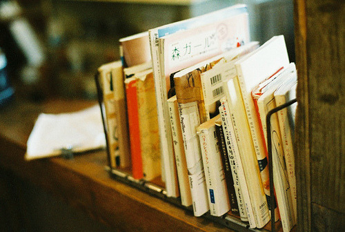 wildstag:  Bookstand by I.E., on Flickr.