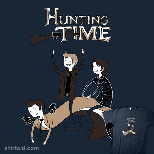 fuckyeahalternateversions:  Hunting Time