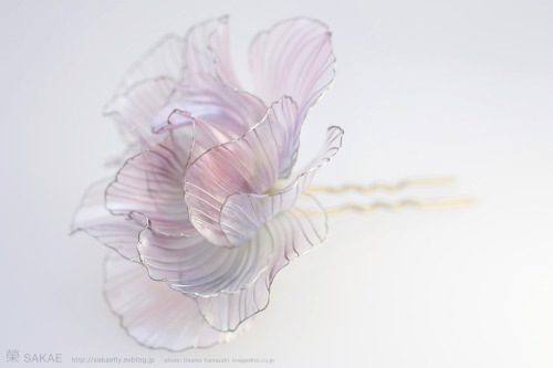 myampgoesto11:  Beautifully designed traditional Japanese Kanzashi hair ornaments by Sakae
