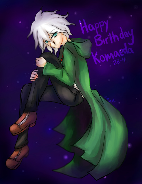 donkey-hands:  HAPPY BIRTHDAY KOMAEDA MY LOVE <3