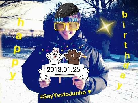 Happy Birthday Lee Junho