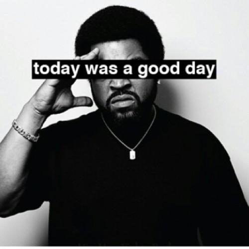 Ya damn right #icecube #hiphop #goodday