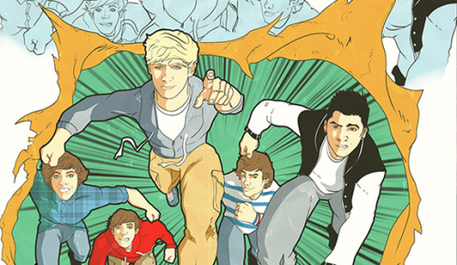 One Direction as X-Men!