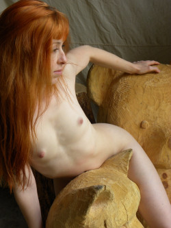 If you like redheads, freckles and pale ladies follow me HERE :)