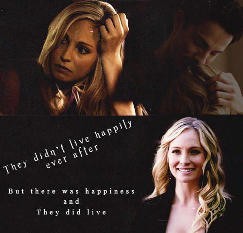 "mysticbarbie:  ""And will I tell you that these three lived happily ever after? I will not, for no one ever does. But there was happiness. And they did live."" - Stephen King Ten Years down the road Caroline finds herself on the brink of the biggest day of her life. A day she'd waited for forever to have and had once thought she'd never get, but now surrounded by her friends and family she was about to marry the love of her life and start a new chapter in her story. It was a day that was making her all sorts of sentimental and she can not help but reflect on all the moments that had led her here.   Read More"