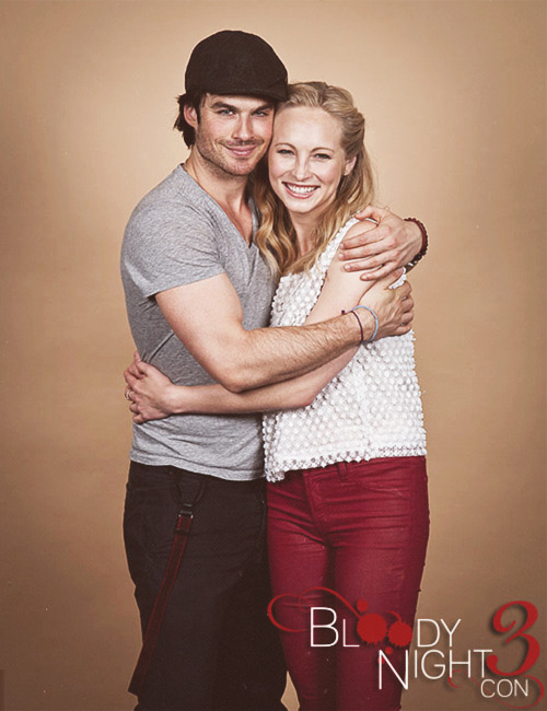 stelenaaa:  Ian & Candice - Bloody Night Con 2013