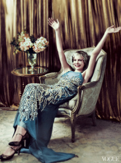sophialaudry:   Carey Mulligan x Great Gatsby x Vogue