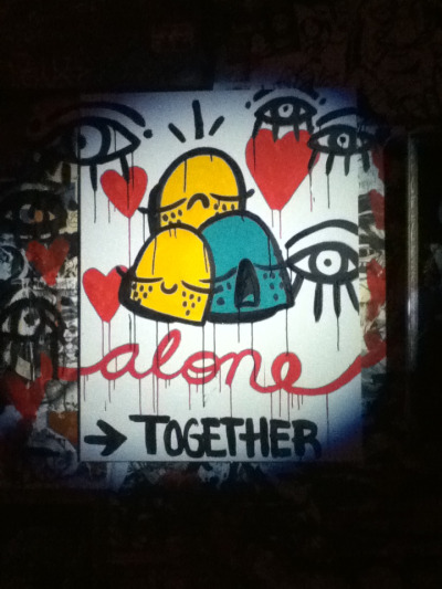 Alone, Together. Qcknd, 2012. JR.P.