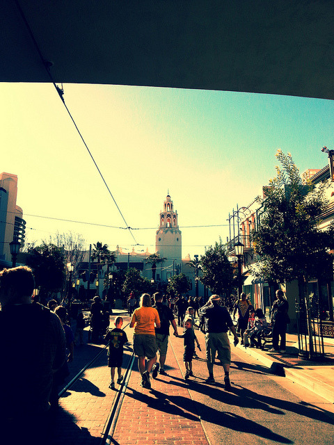 DCA Carthay Circle on Flickr.