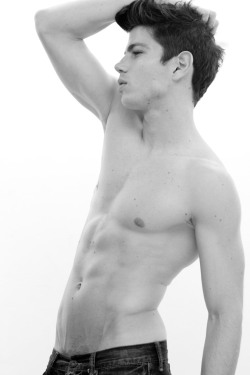chriscruzism:  Artsy B&W digitals of promising Peruvian fresh face, Bruno Vega, coming from his agency K-Models.