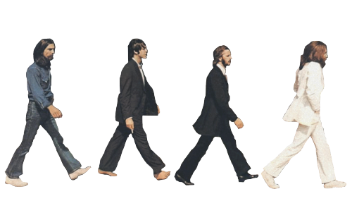 Transparent Beatles I am C R Y I N G.