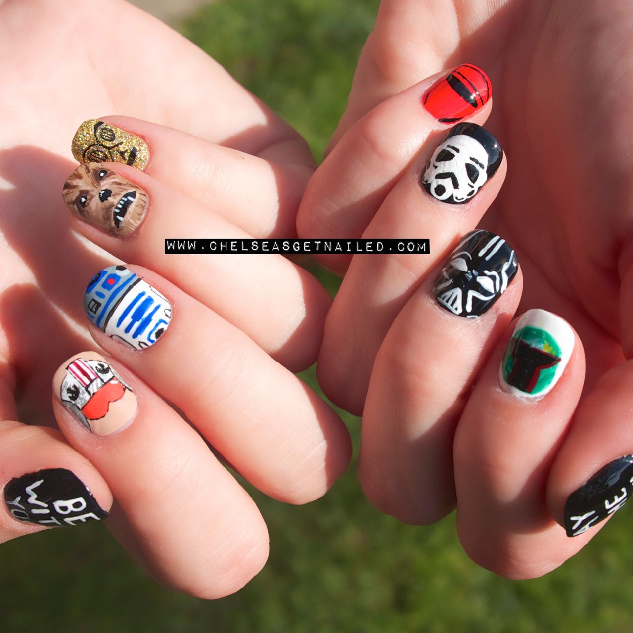 Happy Star Wars day!  http://chelseasgetnailed.com/star-wars-day/