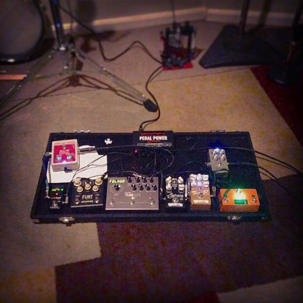 Strymon Flint in full effect! Woohoo! =D