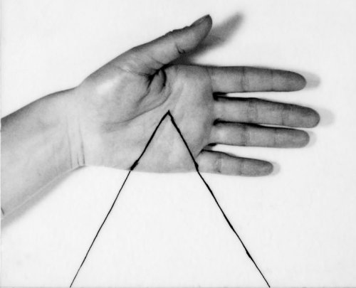 hifas:   Untitled (triangle) 1973 by Liliana Porter