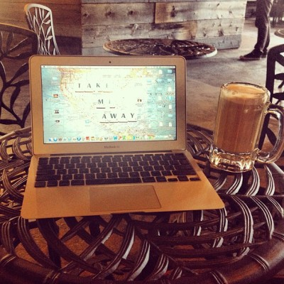#sundayfunday #working away at my new favourite #coffee shop in #Toronto cc @dymonde