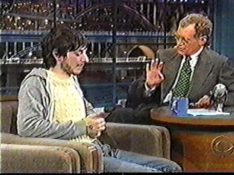 f-ckyeah1990s:  Harmony Korine's David Letterman appearances:  1995: http://youtu.be/ubZ2Z55JjWo 1997: http://youtu.be/_uZgJapYmEI 1998: http://youtu.be/i7nrhGQteas they're all really funny, at his last appearance he was banned for going through Meryl Streeps purse backstage.