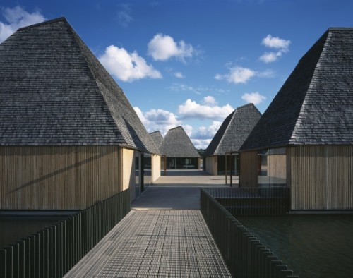 brockholes visitor centre ~ adam khan architects