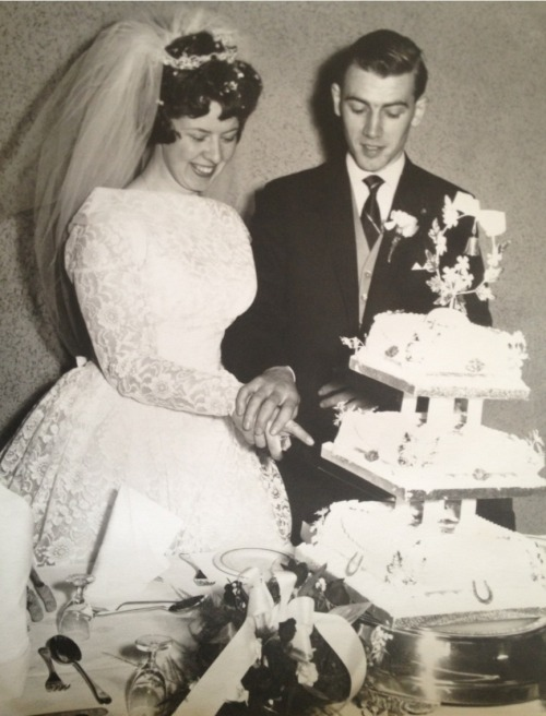 my-pain-is-radioactive:  'Happiest time of your life' grandparents <3 I love you