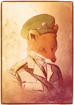 The Red Army`s Red Fox by gigopepo (Artist on tumblr)