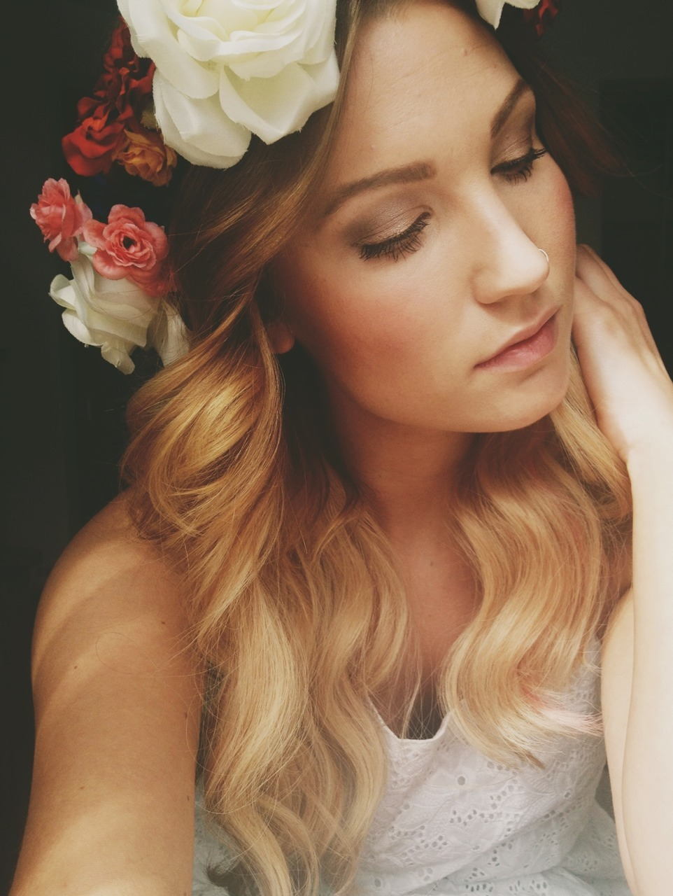mermaaidy:  Homemade flower crown