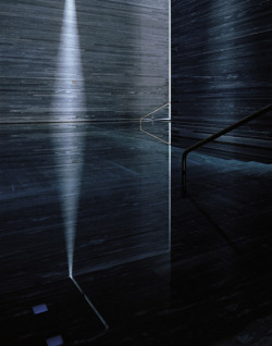 Therme Vals by Peter Zumthor. Photo by Hélène Binet