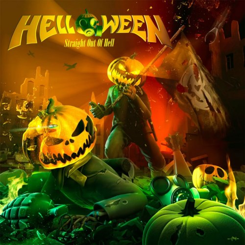 Helloween - Straight Out of Hell is out today!!!! \m/Great solid new album from HelloweeN. Andi Deris is just frakkin amazing in this record, such a underrated metal vocalist. 4.7 out of 5.