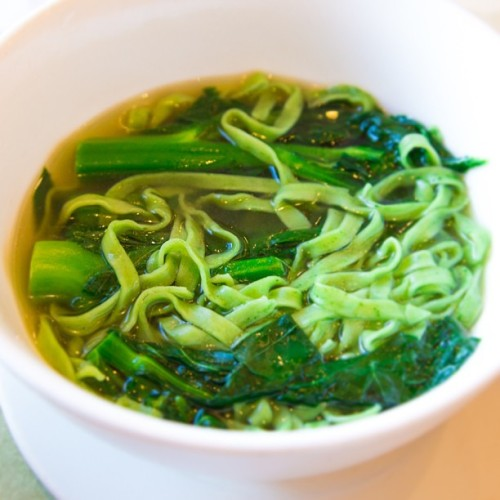 Chinese Vegetable noodle soup - #gastropost #green #veggie #soup #foodporn #food #foody #instafood #instagood #instadaily #all_shots #canon6d #igfood #chinese #noodles #yummy #getinmybelly #ignation #eatme #healthy