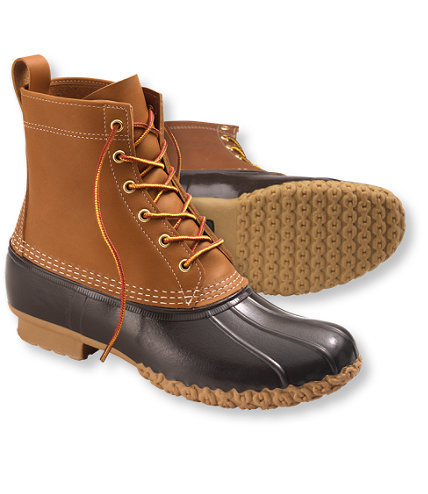 "It's On Sale: LL Bean Boots LL Bean is having a 10% off sale with the checkout code SPRING10 until Monday. It's not much, but they don't do sales often, and when they do, it's not much more than 10%. Their Bean boots have become a bit of an internet trend in the last few years, but for good reason. They have a lot of Northeastern charm, they're relatively affordable, and they're damn useful in the rain. Which comes just in time since next month is April showers. Be sure to pay attention to the sizing information on their website. I wear a 9D in most shoes, and with thin socks, I fit perfectly into a size 8 of their 8"" boots with Thinsulate."